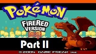 Pokemon ROM Hack Fire Red Omega with Chaos part 11: Rival Battle