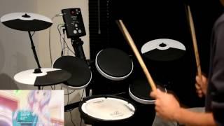 Eromanga-sensei ED -【adrenaline!!!】by TrySail - Drum Cover