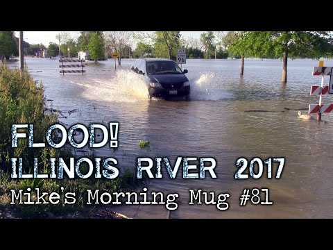 Flood! Illinois River 2017 | Mike's Morning Mug #81