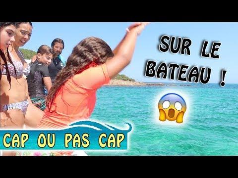 CAP OU PAS CAP : Challenge sur le Bateau ! 😱 / Corse été 2018