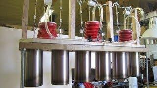 Making a 6-cylinder Stirling engine
