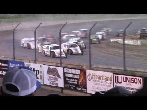 Jamestown Speedway Wissota MW Modified A-Main (5/13/17)