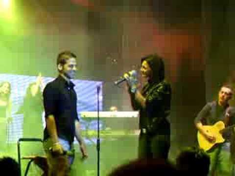 Emilio canta con Anna Tatangelo Capaccio