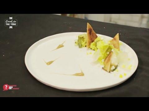recette-de-salade-frisée-au-parmesan-et-oeuf,-courgettes-et-pain-grillé---alexis-top-chef