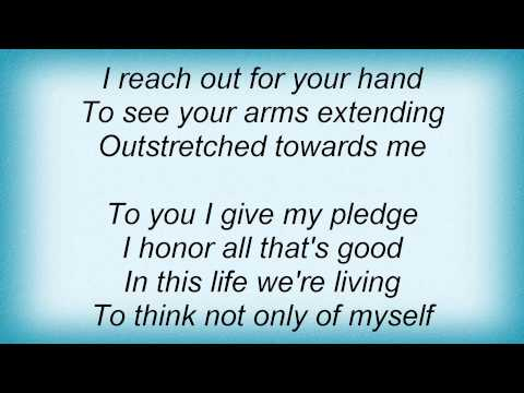 Tracy Chapman - Wedding Song Lyrics