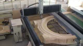 3axis 5-axis cnc wood moulder router