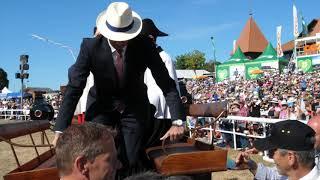 Marché-Concours 2018 : Arrivée du Président de la Confédération Alain Berset