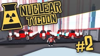 Nuclear Tycoon #2 - TURRET DEFENCE (Roblox Nuclear Tycoon)