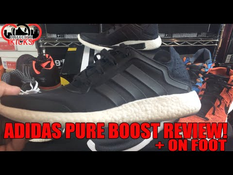 most-comfy-sneaker-ever?-adidas-pure-boost-review-+-on-foot!