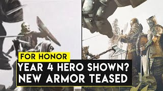 For Honor: YEAR 4 HERO Already Shown? New Armor Teased! Year of Reckoning Year 4 Discussion Theory!