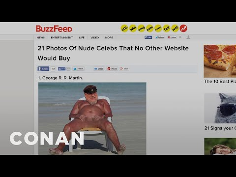 BuzzFeed Is Running Out Of Lists, Vol. 20  - CONAN on TBS