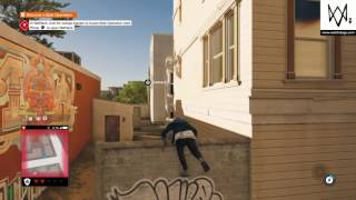 parkour cop chase watch dogs 2