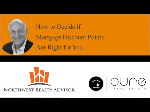 Mortgage Discount Points - Are They Worth the Money?  How to Decide.
