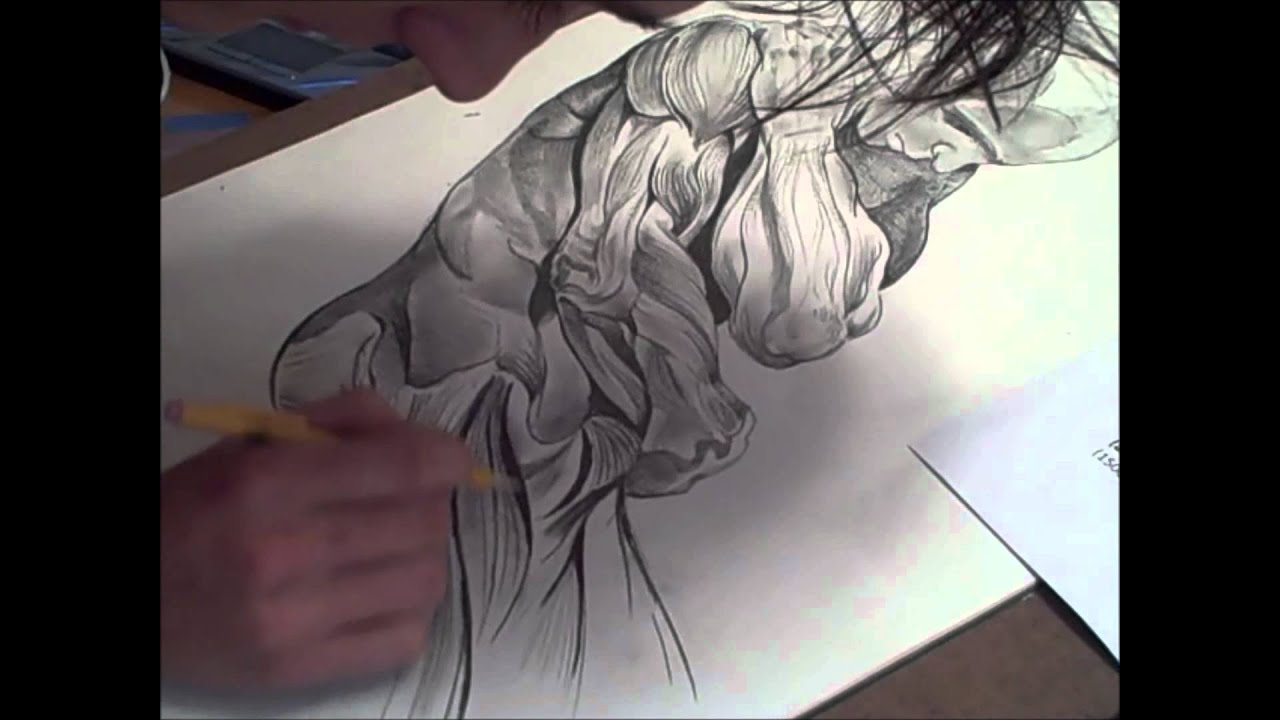 It's just a graphic of Magic Muscular Guy Drawing