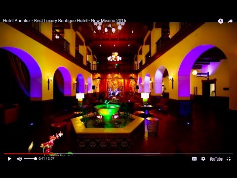 Hotel Andaluz - Best Luxury Boutique Hotel - New Mexico 2016