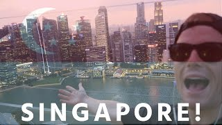"FIRST TIME IN SINGAPORE 🇸🇬 ""HOLY F*CKN S#*T!"" ..VLOG!! 😝 [2016 Singapore Travel & Food Tour HD]"