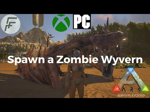 ARK: Survival Evolved How to spawn a Zombie Wyvern