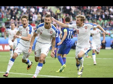República Tcheca 2 x 2 Croácia - GOLS - Euro 2016
