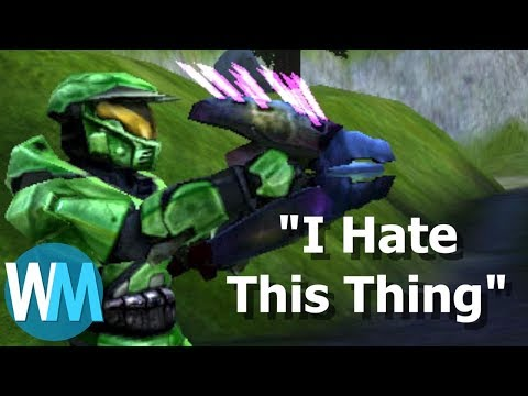 Top 10 WORST Video Game Guns