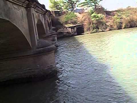 GANGES CANAL 1851 VILLAGE PUKKANA INDIA