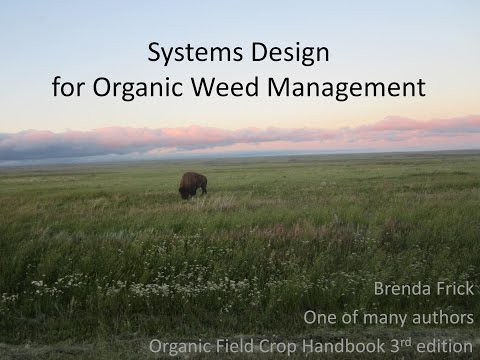 Brenda Frick - Systems Design for Organic Weed Management HD