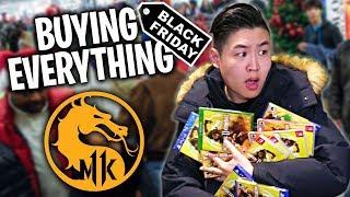 Buying Everything Mortal Kombat Challenge on BLACK FRIDAY!!