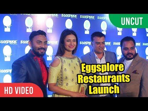 UNCUT - Eggsplore Restaurant Launch By Divyanka Tripathi | Viralbollywood