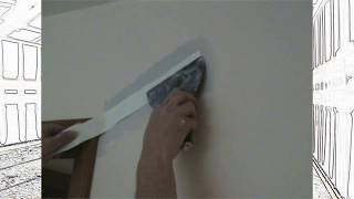 Secret Trick to taping small cracks and where drywall should crack