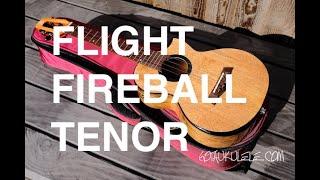 Got A Ukulele Reviews - Flight Fireball EQ-A Tenor