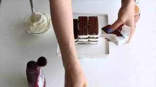 how to make an ice cream cake cake in 5 minutes