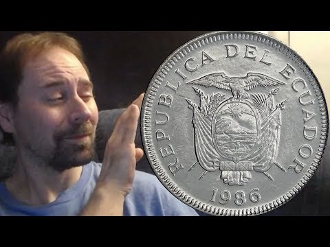Ecuador 1 Sucre 1986 Coin