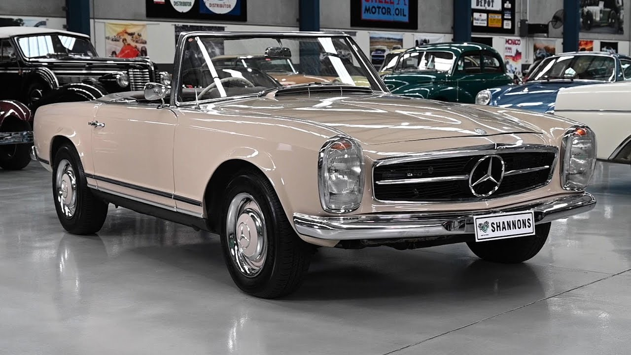 1966 Mercedes-Benz 230SL Convertible - 2020 Shannons Winter Timed Online Auction