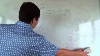 Алгебра 8 класс. 18 сентября. Разность алгебраических дробей 4