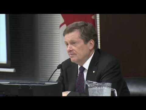 Interview #2 John Tory on Toronto Violence - June 9, 2016