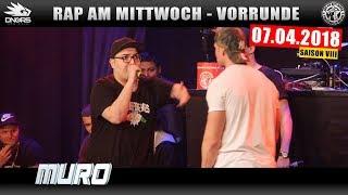 RAP AM MITTWOCH KÖLN: 07.04.18 Vorrunde feat. MURO, JOLLE, G-BALLA uvm. (2/4)