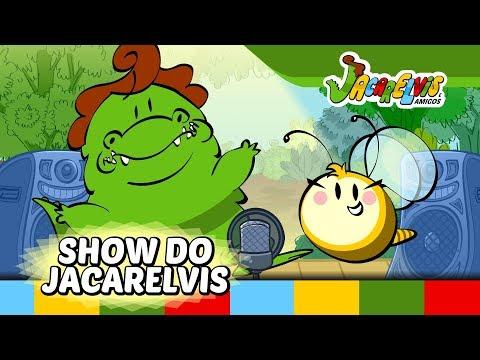 ♫ ♪ Jacarelvis e Amigos | Show do Jacarelvis (DVD Infantil Jacarelvis e Amigos Vol. 1): Produtos do Jacarelvis em: http://jacarelvis.lojaintegrada.com.br/  DVDs e CDs:  http://www.somlivre.com/artista/jacarelvis.html  Livro infantil interativo: Google Play: https://goo.gl/zSSK1D AppStore: https://goo.gl/1uE3DV   Clipes para Android: http://goo.gl/HJo9Kv Clipes para Iphone e iPad: http://goo.gl/29T3fh  Músicas no iTunes: http://som.li/1wFR41W Clipes no iTunes: http://goo.gl/eexXuc Ouça na Deezer: http://som.li/1rrDtv4 Ouça no Spotify: http://goo.gl/72SftJ  Atividades Educativas do Jacarelvis em: http://www.jacarelvis.com.br/atividades-educativas-do-jacarelvis.htm Site do Jacarelvis: http://www.jacarelvis.com.br/ Facebook: https://www.facebook.com/Jacarelvis Canal no Youtube: http://www.youtube.com/user/Jacarelvis  Inscreva-se nos sorteios em: http://www.jacarelvis.com.br/sorteios/  Jacarelvis e Amigos ® - Todos os direitos reservados Realização e animação: Animar Estúdio / http://www.animarestudio.com.br  _______________________________________ CRÉDITOS:  - Música e Letra, vocal e gaita  - Tiago Saad   - Arranjo, banjo, bateria, contra baixo, guitarra e efeitos sonoros - Anselmo Henrique Carvalho