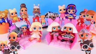 Куклы Лол Мультик - В поисках Питомцев Lol Surprise Fuzzy Pets Полная Коллекция 2 Волна