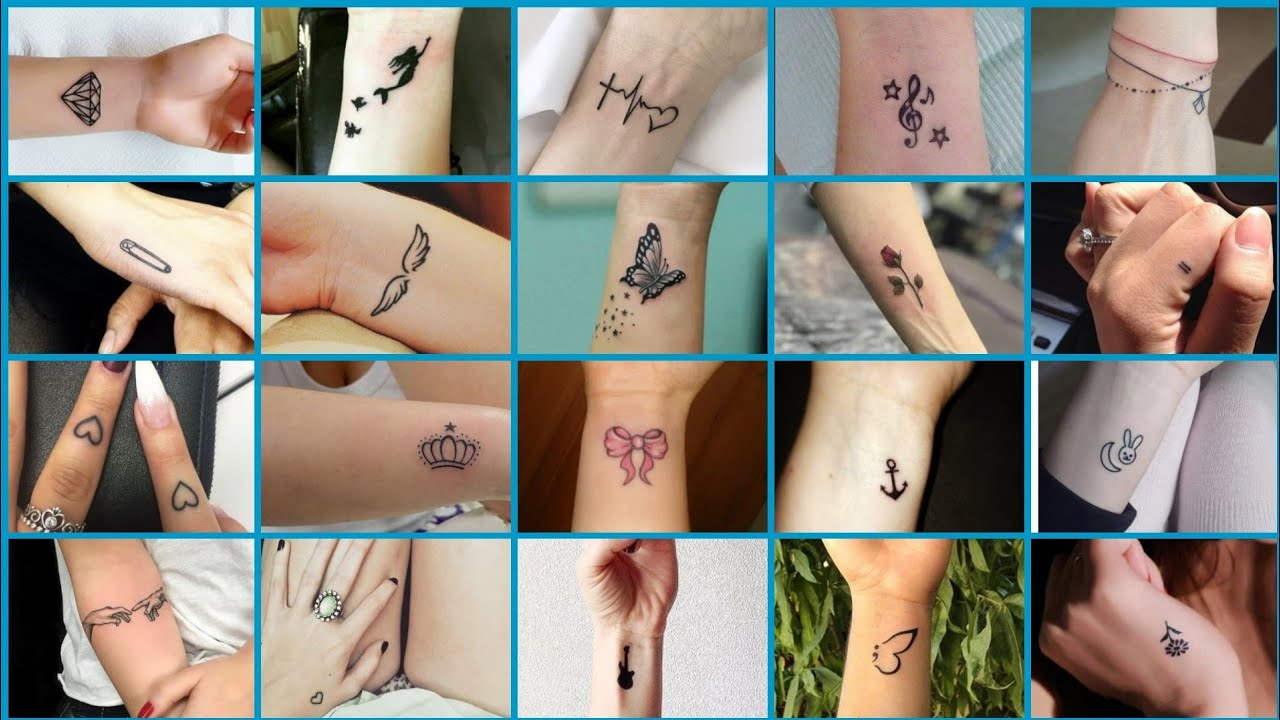 20 simple hand tattoos for girls   beautiful hand tattoos for women   small  hand tattoo for girls