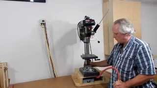 Floating drill press