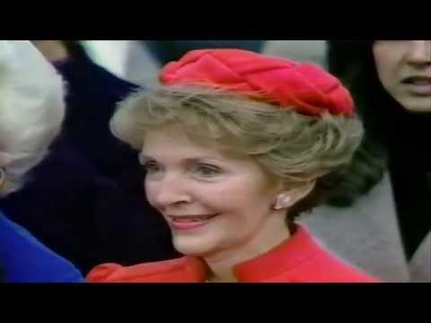 Ronald Regan's Inauguration 1981 Walter Cronkite CBS WWL-TV4