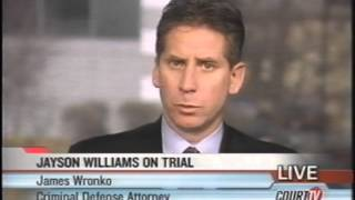 Court TV/Tru TV: Jayson Williams Murder Trial interview w/ Fred Graham & James Wronko