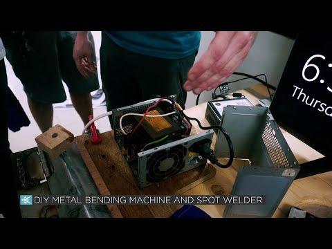 DIY Metal Bending Machine and Spot Welder