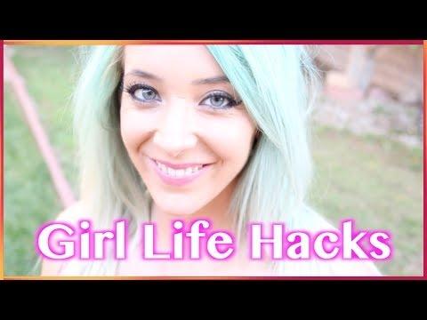 【中字】Jenna Marbles - 女生該知道的生活小妙招 Girl Life Hacks