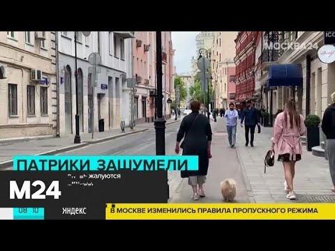 Жители центра столицы вновь жалуются на гуляющие компании - Москва 24