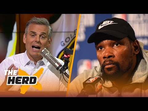 Colin Cowherd on Boston's fear of LeBron, Talks pressure on Kevin Durant in Game 5 | NBA | THE HERD