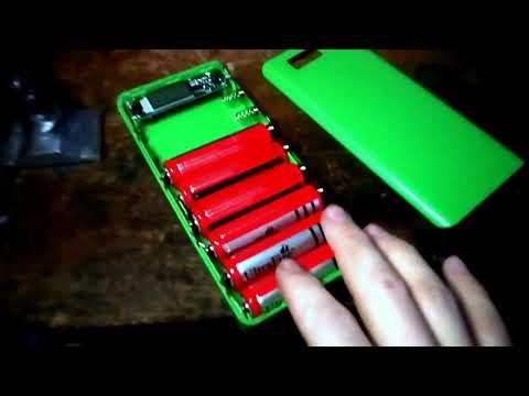 DIY USB 818650 Внешний аккумулятор зарядное устройство для мобильного телефона