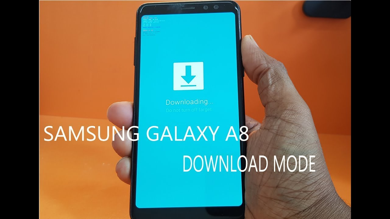 Galaxy A6 Download Mode