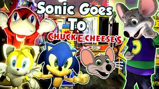 ABM Movie: Sonic Friends Goes To Chuck E. Cheese's !! HD