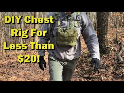 DIY  Chest Rig...Simple  Cheap  Awesome! How Does It Compare To Hill People Gear Kit Bag?