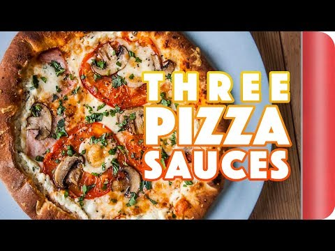 3 Perfect Pizza Sauces